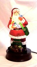 Rare-NEW 1999 Old World CHRISTmas Santa w/Feathered Friends Light  Blown Glass