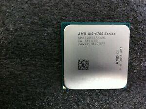 AMD A10-6700 3.70GHz Quad-Core CPU Processor AD6700OKA44HL Socket FM2 - C1879