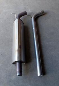 VW Golf GTi Mk7 / Mk7.5 Centre resonator mid silencer delete pipe deres pipe