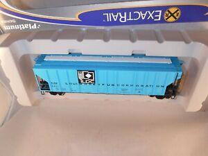ExactRail Platinum HO Louis-Dreyfus 50' PS-2CD 4427 CuFt Hopper Blue #TLDX 5469
