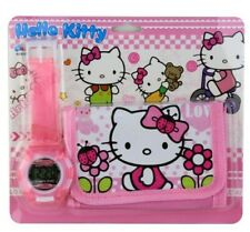 Hello Kitty Children's Watch and Purse Set For Kids Boys Girls Christmas Gift