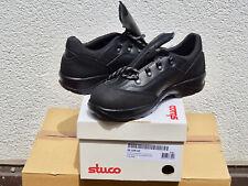 STUCO Sicherheits-Halbschuh S3 schwarz, Grösse 42 aus Rindsleder, FABRIKNEU!
