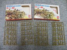 Esci AMT Ertl 1/72  WW2 British 8th Army - 2 boxes