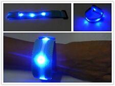 *NEW* LED Armband Wristband Flexible Running Cycling Safety Flashing 3 Modes