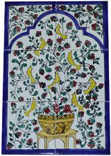 Fliesenbild Keramikfliesen Orient Handbemalt Wandfliesen Mediterran Mosaik 06 37