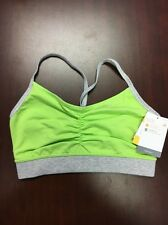 Champion Active Performance Sports Bra Size Small Green
