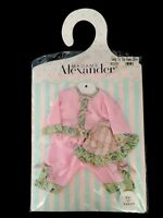 "Madame Alexander Going To The Park Outfit Pink Fits 14"" Victoria Baby Doll"