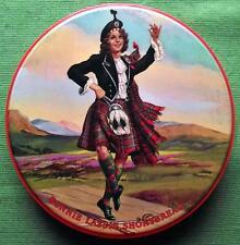 More details for c1950 edinburgh middlemass & son shortbread bonnie lassie tartan tartanware tin