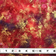 MODA MARBLE METALLIC - FUSCHIA - #9897.17 - PATCHWORK  FABRIC by the the ½ metre