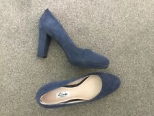 Clarkes Kendra 6 Navy Shoes