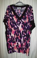 INSALATA - plus size L / 26 + stretchy short sleeve top - Made in Australia