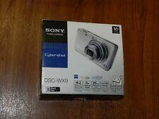 Open Box - Sony Cyber-Shot DSC-WX9 16.2 MP Camera - BLACK - 027242808652