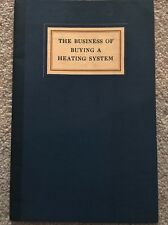 Vintage 1926 Steam Heating Guide Standard Heater Company, Williamsport, Pa