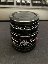 Leica SUMMICRON-M 50mm f/2 Lens (Black) 11826