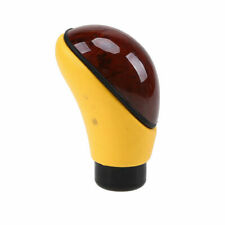 1x PU Leather Automatic Manual Car Gear Shift Knob Shifter Lever Cover Universal