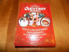 THE ORIGINAL TELEVISION CHRISTMAS CLASSICS RUDOLPH FROSTY SANTA CLAUS 4 DVD SET