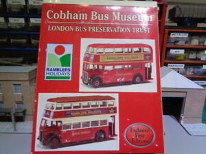 EFE 99920 London Transport Cobham Bus Museum Set (Ramblers Holidays) B6