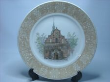 "Royal Copenhagen NAVAL CHURCH 10.7"" Plate 6 Photos 27cm Holmens Kirke"
