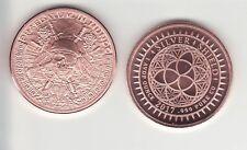 PIRATE'S PLUNDER  1 oz. Copper Round  MINI MINTAGE  #43   Silver Shield  2017