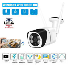 1080P HD Outdoor Security IP Camera Wireless Wifi Network CCTV IR Night Vision
