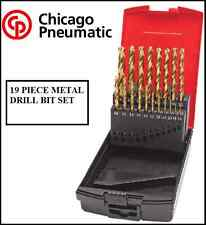 CHICAGO PNEUMATIC 19 PIECE METAL DRILL BIT SET 8940172303 cp tools Quality