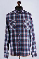 Nudie Jeans Checked Long Sleeve Shirt Size L