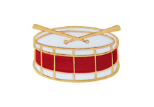 Snare Schlagzeug Anstecker
