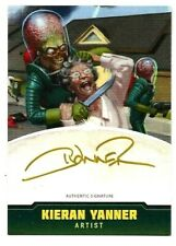 TOPPS MARS ATTACKS OCCUPATION CREATORS AUTOGRAPHED CARD A-5 KIERAN YANNER