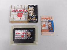 HISSATSU SHIGOTONIN -- Boxed. Famicom, NES. Japan game. Work fully. 10827