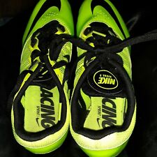 NIKE Women's Zoom Rival S  Lime Green Track Spikes Athletic Shoes Size 8