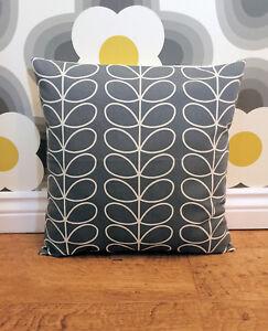 Orla Kiely Stem Cool Grey Cushion Cover All Sizes 16 inch