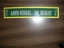 AARON RODGERS NAMEPLATE FOR SIGNED BALL CASE/JERSEY CASE/PHOTO