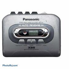 Panasonic Rq-E10V Personal Walkman Cassette Tape Player Am/Fm Xbs 20 Station Mem