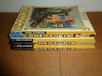 Neotopia vol. 1 2 3 Color Manga Grapchic Novel Comic Book Lot in English