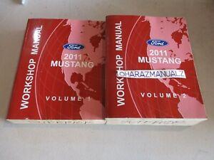 2011 FORD MUSTANG Service Manuals Manual  OEM