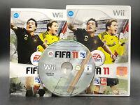 """NINTENDO WII SPIEL"""" FIFA 11 FUSSBALL 2011 """" KOMPLETT"""