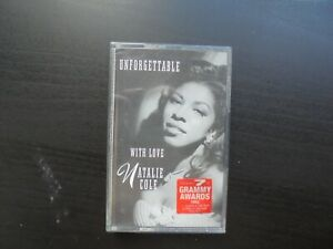 Tape Cassette Natalie Cole Unforgettable With Love