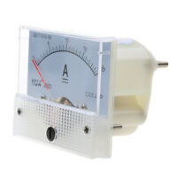 New DC 0-20A Analog Amp Meter Ammeter Current Panel