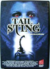 Dvd Tail Sting - La coda dello scorpione di Paul Wynne 2001 Usato