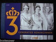 PRESTIGEBOEKJE PR 24 2009 3 GENERATIES KONINGINNEN CAT.WRD. 16,00 EURO