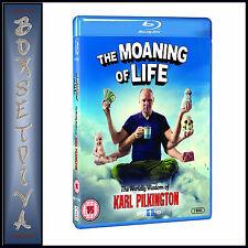 THE MOANING OF LIFE - Karl Pilkington  *BRAND NEW  BLU-RAY *