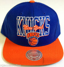NBA New York Knicks Mitchell and Ness Snapback Cap Hat M&N NEW! READ DESCRIPTION