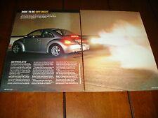 2000 VW JET TURBINE POWERED HYBRID STREET CAR  ***ORIGINAL 2007 ARTICLE***