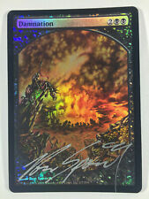 Damnation Full-Art Foil - signed by Ron Spencer - MTG Promo
