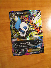 EX Mega M ABSOL EX Pokemon Card PROMO Black Star XY63 Set Ultra Rare X and Y TCG