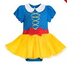 Costume carnevale baby Biancaneve. Disney. 6-9 mesi.