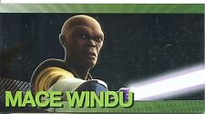 Star Wars Clone Wars Widevision Foil Character Chase Card #8