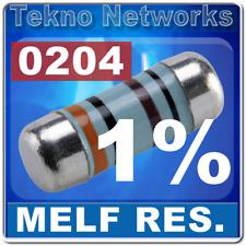 50x 0204 1406 Metal Film Mini Melf Resistors 1 Smdsmt 50pcs 1