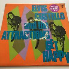 Elvis Costello & The Attractions Get Happy! 1980 Vinyl [ Xxlp1 ] Rock