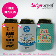 100 x Personalised Stubby Holders - Weddings, Bdays, Business, Promotions